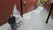 New Sculpture by Sean Williams Honors Stone-Cutting Community