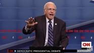 Larry David Impression Prompts Bernie Sanders to Talk Underwear