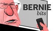 Bernie Bits: Iowa Poll Shows Clinton Leading Sanders by 41 Points
