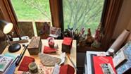 Quarantined Artists Bring Their Studios Home