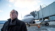 Up in the Air: Gene Richards Works to Keep the Airport Competitive