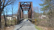 Pedaling the Lamoille Valley Rail Trail