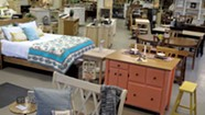 Going with the Grain: Sam's Wood Furniture Rebuilds Itself