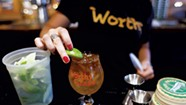 Spirited Cocktail Offerings at Worthy Burger