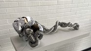 Art Review: Johnny Swing's Currency Sculpture at the Bundy Modern