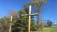 Do Large Crosses Violate Vermont's Billboard Law?