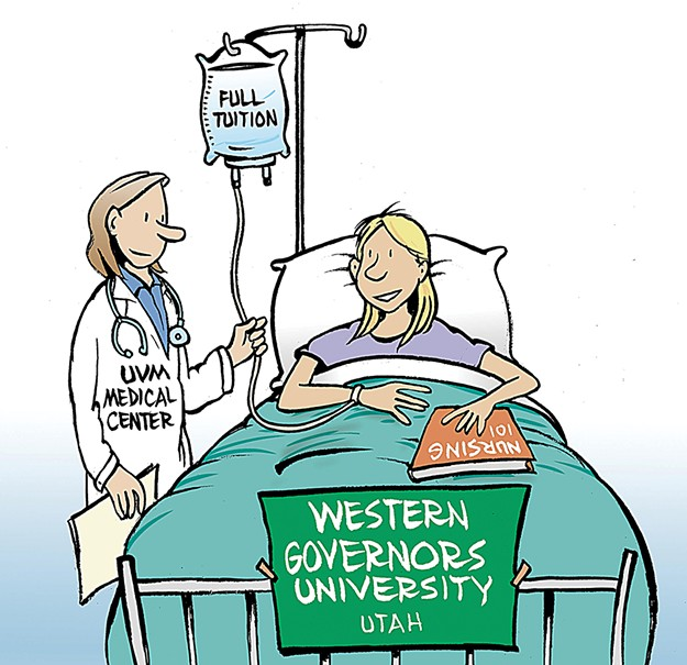 A Matter of Degrees: UVM Nurses Bargain to Study in Vermont ...