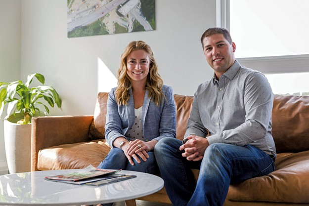 Jacqueline And Nathan Dagesse Are High Rising Developers Construction Development Seven Days Vermont S Independent Voice