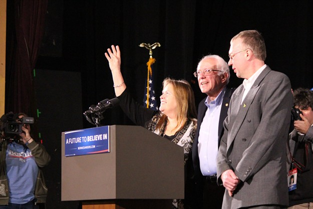 On the New Hampshire Campaign Trail With Bernie Sanders