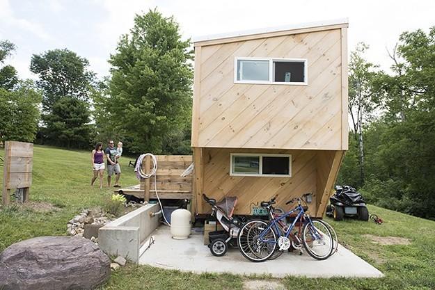 Explore a Middlebury Tiny House