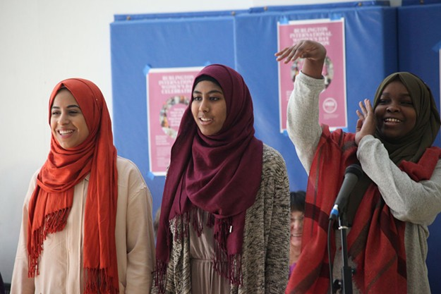 International Women's Day Celebration in Burlington