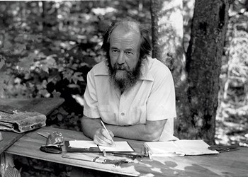 A New Exhibit Considers Solzhenitsyn's Exile in Vermont