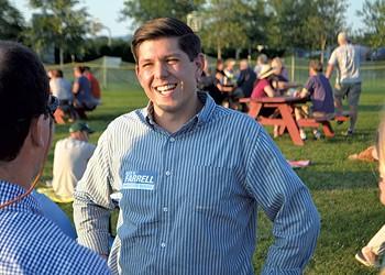 Can Republican Newbie Alex Farrell Win a Senate Seat in Chittenden County?