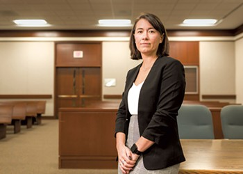 Running Unopposed, State's Attorney Sarah George Campaigns for Reform