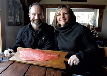 Vermonter Lynn Steyaart Supplies Local 'CSF' With Alaskan Salmon