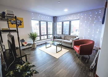 Champlain College Students Are Loving Their New Downtown Digs