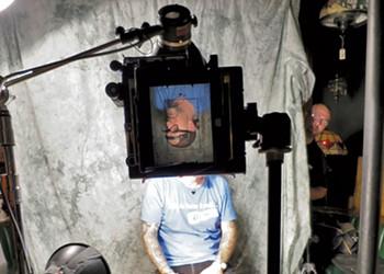Tintype Photographers Shoot Burlington