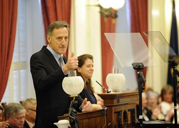 Shumlin Puts Marijuana, Fossil Fuel Divestment on Table for His Final Year