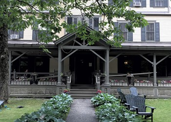 Historic Norwich Inn Welcomes Guest on Foot or by Car