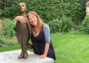 Stuck in Vermont: Winooski Sculptor Leslie Fry Celebrates Five Decades of Work With New Book