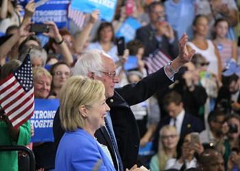 Bernie Sanders Concedes, Endorses Hillary Clinton for President