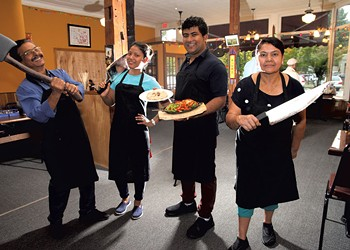 Grilling the Chefs at Nepali Kitchen