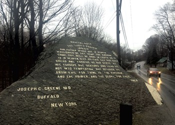 Why Is the Lord's Prayer Inscribed on a Rock in Bristol?