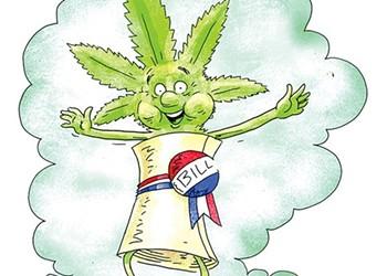 Marijuana Legalization Bill Hits Vermont Governor's Desk