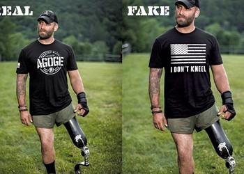Stolen Glory: Trolls Doctor Vermont Photog's Shot of Veteran