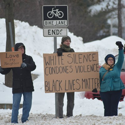 Photos From Anti-Racism Rally