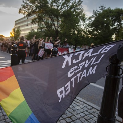 Inside Burlington's Battery Park Protest