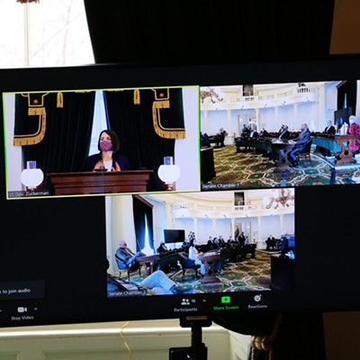 Scenes From the Vermont Legislature's First Day