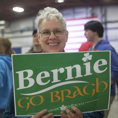 Scenes From Bernie Sanders' Super Tuesday Rally