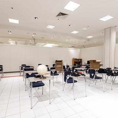Inside the Downtown Burlington High School