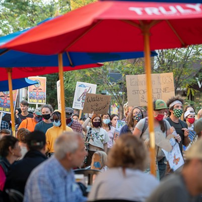 Slideshow: Scenes From the Burlington Stop Line 3 March and Rally