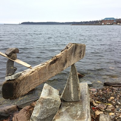 Natural Artwork on the Burlington Waterfront