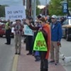 During Evangelist's Swing Through Vermont, Picketers Greet His Flock