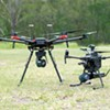 Drones outfitted with MicroStrain's Emesent application