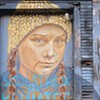 A Greta Thunberg Mural Is Defaced and Rebooted in Rutland