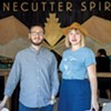Sivan Cotel and Sas Stewart, cofounders of Stonecutter Spirits
