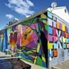 Burlington Artists Roll Out a Downtown Mural