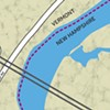 Where on the Connecticut River Is the Vermont-New Hampshire Border?