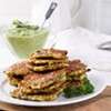 Home on the Range: Chef Courtney Contos' Flexible Veggie Pancakes