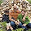 Good Wood: Jericho Dad and Sons Donate Firewood to Those in Need