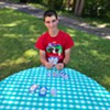 Teen Harrison Brooks Invents New Card Game, ElevatorUp