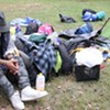 Last Campers, Some Homeless, Take Leave of Battery Park