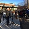 Voting in Burlington, Sanders Calls for Big Super Tuesday Turnout