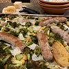 Home on the Range: Sheet-Pan-Roasted Sausages, Broccoli and Chickpeas with Lemon and Parmesan