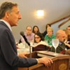 Montpeculiar: One Foot Out the Door, Shumlin Plays Media Critic