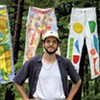 Charlotte's Zach Pollakoff Inspires Creatives to Make Work — Including Adorned Painter's Pants